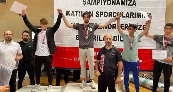Alperen Utku, Avrupa Şampiyonasında Bolu'yu Temsil Edecek