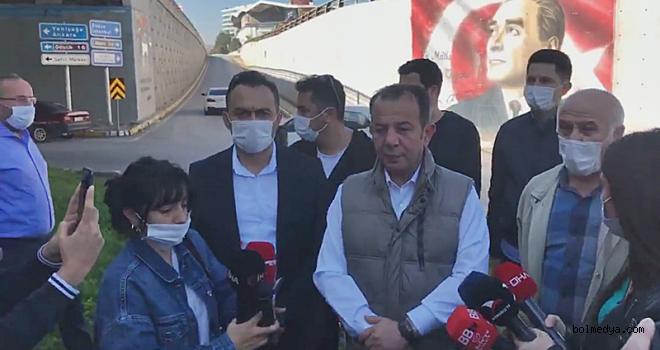 Başkan Özcan, Bolu Paşaköy Kavşağındaki Silinen Resimlere Tepki Gösterdi