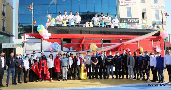 Başkan Özcan, Gazi Çocuklarının, Otobüs Turuyla da Bolu Halkının Bayramını Kutladı