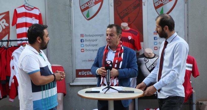 Başkan Özcan, Yeni Bolu Stadyumuyla İlgili Gelişmeleri Açıkladı
