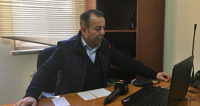 Başkan Tanju Özcan Anonsla Boluluları Uyardı