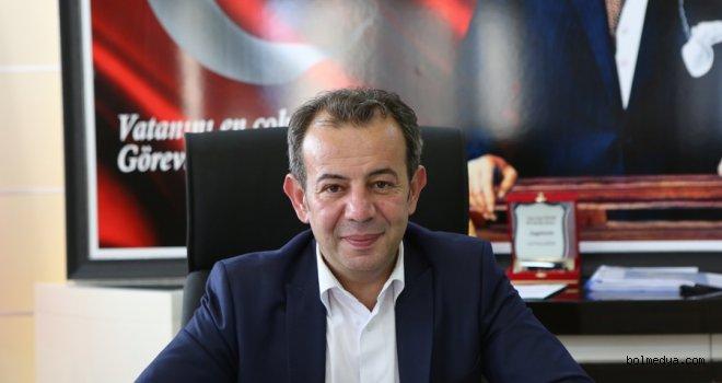 Başkan Tanju Özcan'ın 10 Ocak Mesajı