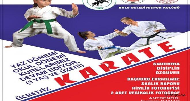 Belediyespor Karate Yaz Okulları Başladı