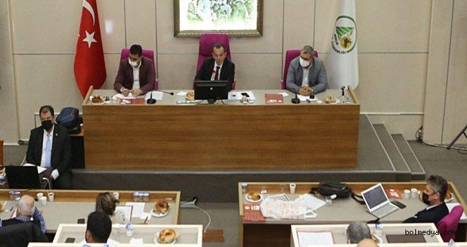 Bolu Belediye Meclisi'nden Katil İsrail'e Kınama