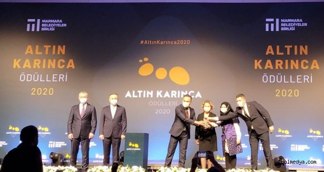 Bolu Belediyesi Altın Karınca Ödülü Aldı