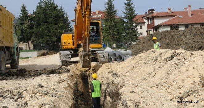 Bolu Belediyesi Altyapı Çalışmalarını Sürdürüyor