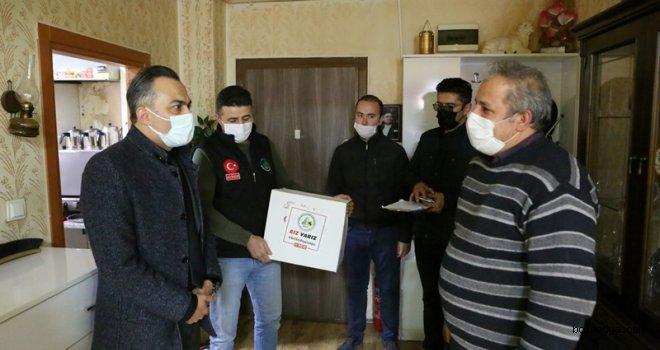 Bolu Belediyesi'nden Esnafa Yardım