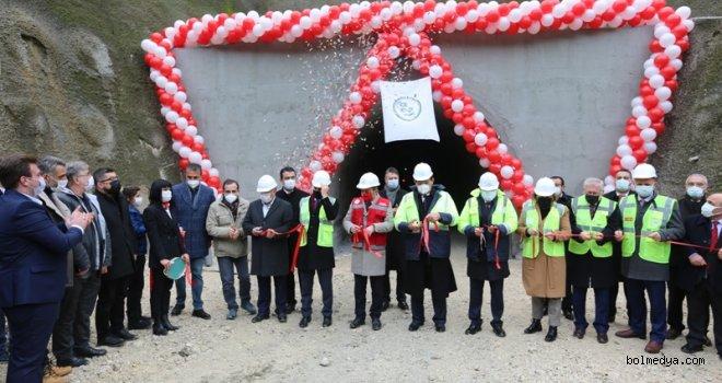 Bolu Karadere Tüneli Törenle Açıldı