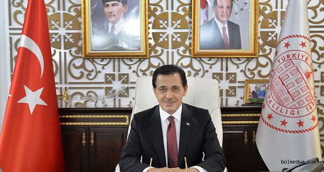 """Bolu Valisi Ahmet Ümit'in """"23 Nisan Ulusal Egemenlik ve Çocuk Bayramı"""" Mesajı"""