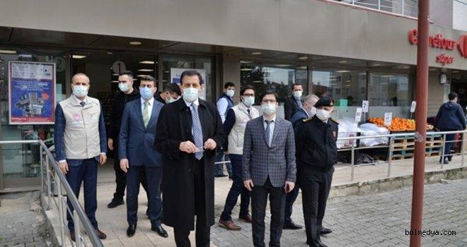 Bolu'da Koronavirüsle Mücadele Denetimlerine 441 Ekip 1292 Personel Katıldı