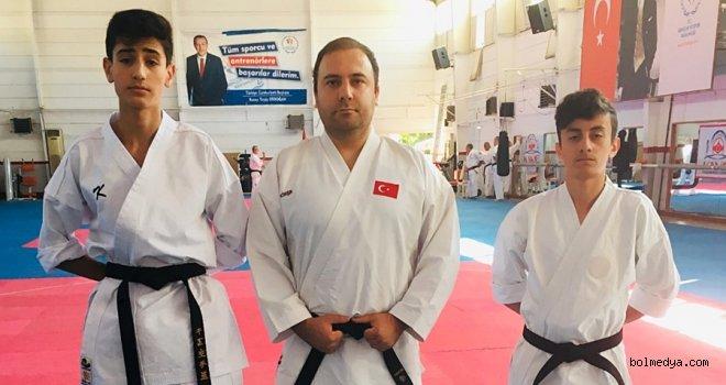 Bolulu Karateciler Ankara'da