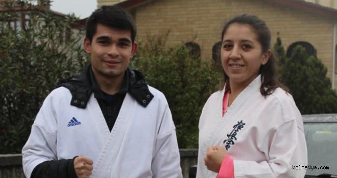 Bolu'lu Karateciler Kış Kampına Katıldı