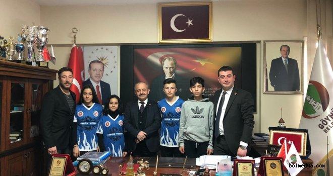 Göynük Belediye Sporlu Sporcular Madalyalarla Döndü