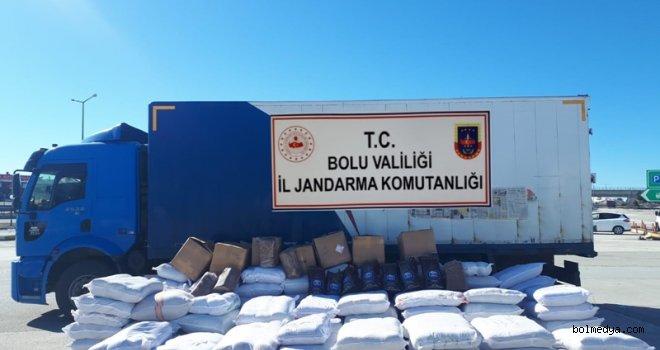 İl Jandarma Tarafından Kaçak Ürünler Ele Geçirildi