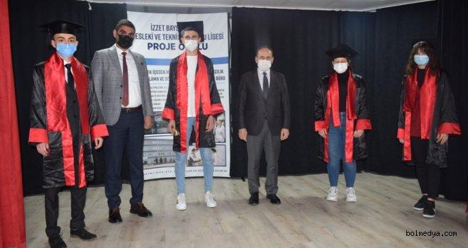 İzzet Baysal Abant MTAL'de Proje Okul, Atölye Açılışı ve Mezuniyet Törenleri Yapıldı