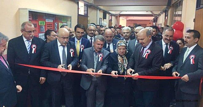 Kocaeli'nde Şehit Ziya Sarpkaya Kütüphanesi Açıldı.