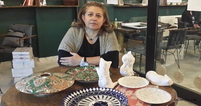Kültür Bakanlığı Çini Sanatçısı Kılıç, Bolu'da Çini Kursu Verdi