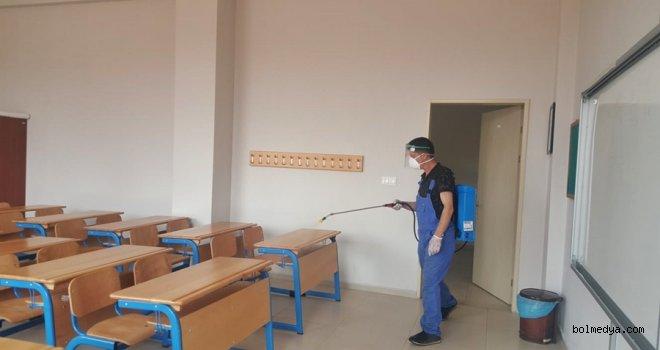 Mengen'deki Okullar Sınava Hazır