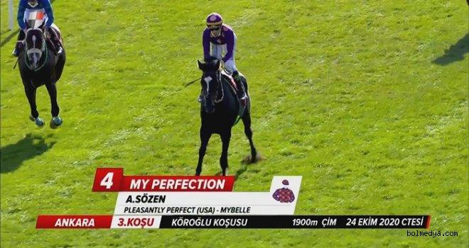My Perfection, 5. Köroğlu Koşusu'nun Galibi Oldu
