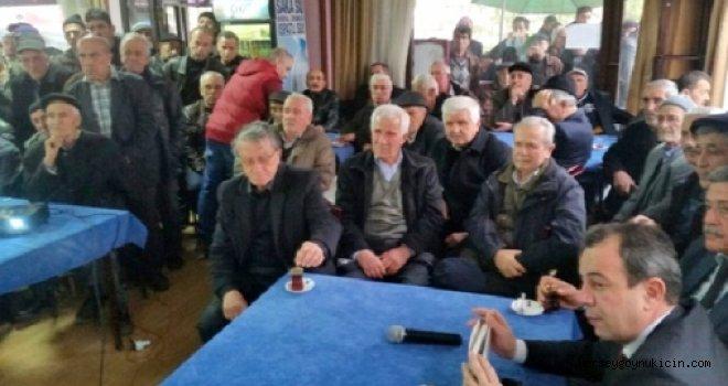 Tanju Özcan Göynük halkıyla buluştu