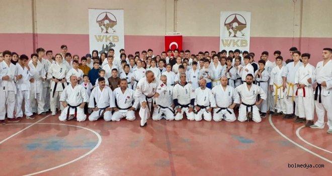 Türkiye Kyokushin Şampiyonası hazırlığı