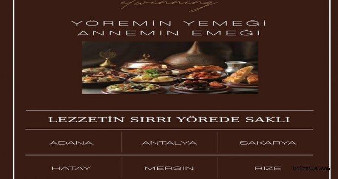 """""""Yöremin Yemeği, Annemin Emeği"""" Projesi Chef Mahmut Dolmacı'yla Başladı"""